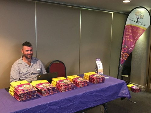Rhys Smith at Foster Carer Information sessions