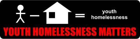 Youth Homelessness Matters logo